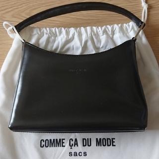 COMME CA DU MODE - 黒  ハンドバッグ