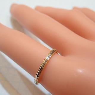 ティファニー(Tiffany & Co.)の■750(K18)PT950 TIFFANY&Co.ティファニー 甲丸リング■(リング(指輪))