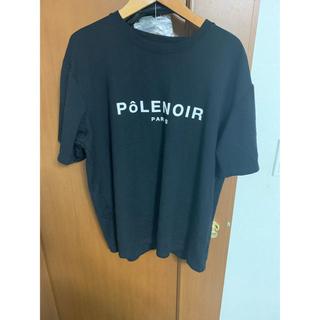 バレンシアガ(Balenciaga)のPOLENOIR PARIS ロゴTシャツ(Tシャツ/カットソー(半袖/袖なし))