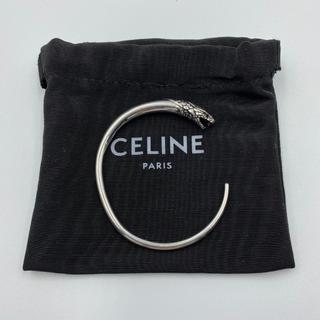 セリーヌ(celine)の【新品】セリーヌ CELINE ブレスレット バングル シルバー アクセサリー(ブレスレット/バングル)