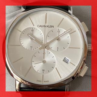 カルバンクライン(Calvin Klein)の【新品】カルバンクライン Calvin Klein 腕時計クロノグラフ30m防水(腕時計(アナログ))