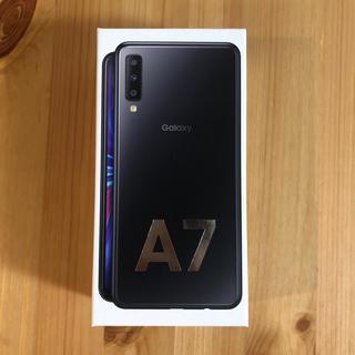 ギャラクシー(Galaxy)のGalaxy A7(スマートフォン本体)