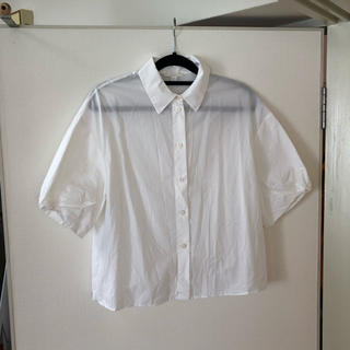 コス(COS)のCOS 半袖シャツ 白ブラウス(シャツ/ブラウス(半袖/袖なし))