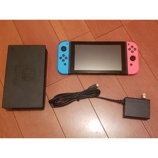 ニンテンドースイッチ(Nintendo Switch)の任天堂 Switch 本体 動作確認済 スイッチ(家庭用ゲーム機本体)