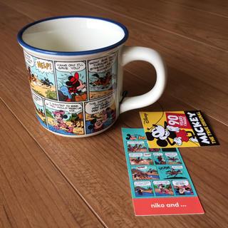 ニコアンド(niko and...)の★新品★ニコアンド★ミッキー★マグカップ(グラス/カップ)