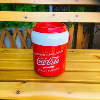 コカコーラ(コカ・コーラ)の新品未使用 コカコーラ Coca-Cola 1リットル クーラーボックス(日用品/生活雑貨)
