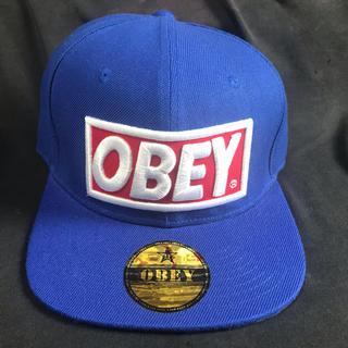 オベイ(OBEY)の未使用品 OBEY キャップ スナップバック(キャップ)