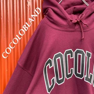 ココロブランド(COCOLOBLAND)の☆レア☆ココロブランド☆ギルダンボディ☆ビッグロゴ☆袖ボング刺繍☆パーカー(パーカー)