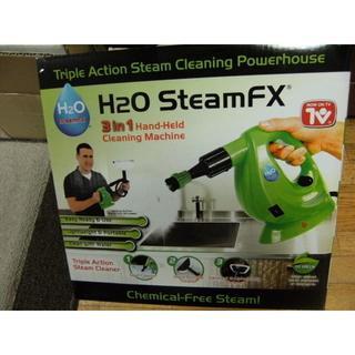 未使用未開封H2O スチームFX デラックスセット ポータブルハンディスチーマー(掃除機)