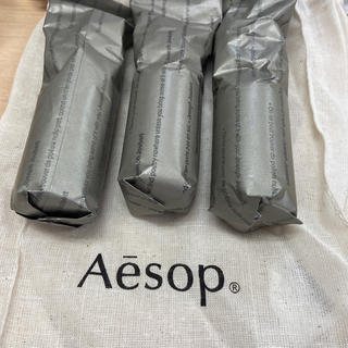 Aesop - イソップ  巾着 リンスフリー 3本セット