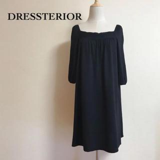 ドレステリア(DRESSTERIOR)のDRESSTERIOR  ニットワンピース 毛100%(ひざ丈ワンピース)