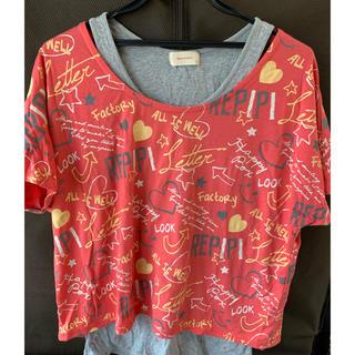 レピピアルマリオ(repipi armario)のトップス(Tシャツ(半袖/袖なし))