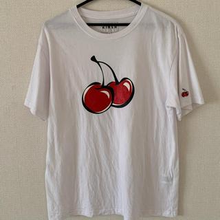 スタイルナンダ(STYLENANDA)のkirsh ロゴTシャツ チェリー さくらんぼ(Tシャツ(半袖/袖なし))