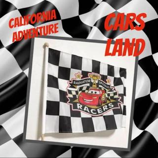 Disney - カーズ  カーズランド レーシングフラッグ マックイーン GT サーキット カー