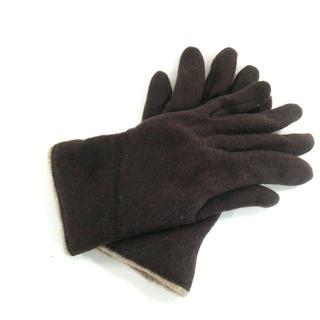 バーニーズニューヨーク(BARNEYS NEW YORK)のバーニーズ 手袋 レディース美品  ウール(手袋)