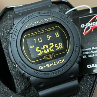 ジーショック(G-SHOCK)の新品 送無 マット黒 スペシャルカラー G-SHOCK DW-5700BBM-1(腕時計(デジタル))