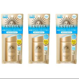 ANESSA - ANESSA(アネッサ) UV スキンケアミルク a日焼け止め60mL3個セット