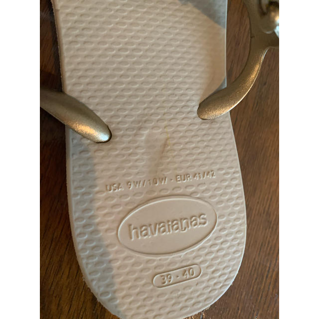 havaianas(ハワイアナス)のHavaianas サンダル(サイズ39-40) ベージュ メンズの靴/シューズ(ビーチサンダル)の商品写真