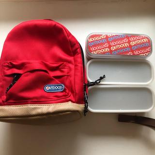 アウトドア(OUTDOOR)の新品未使用 OUTDOOR 保冷バッグ付き弁当箱(弁当用品)