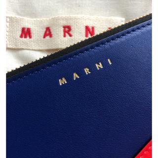 マルニ(Marni)の新品未使用品 MARNI コンチネンタル ウォレット 長財布 ラウンドファスナー(財布)