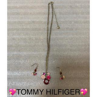 トミーヒルフィガー(TOMMY HILFIGER)のTOMMY HILFIGER ネックレス ピアス セット(ネックレス)