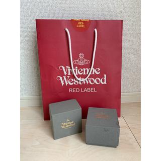 ヴィヴィアンウエストウッド(Vivienne Westwood)のヴィヴィアン 空箱 リング(ショップ袋)