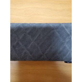 鮮やかな色目が目を引く象革ラウンドファスナー長財布(象革/日本製)  (長財布)