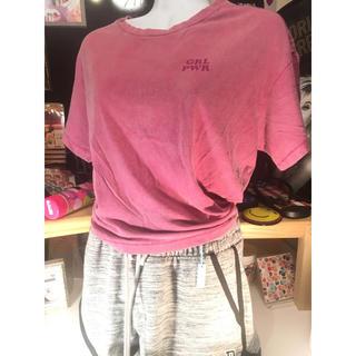 ヴィクトリアズシークレット(Victoria's Secret)のヴィクトリアシークレット Victoria's Secret ショートTシャツ(Tシャツ(半袖/袖なし))