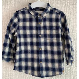 ザラキッズ(ZARA KIDS)のザラキッズ チェックシャツ(シャツ/カットソー)