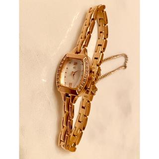 ヨンドシー(4℃)の人気商品‼️4℃❤ダイアモンド ブレスレットウォッチ 新品同様(腕時計)