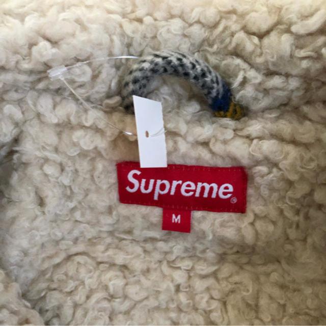 Supreme(シュプリーム)のSupreme Plaid Shearling Bomber jacket  レディースのジャケット/アウター(毛皮/ファーコート)の商品写真