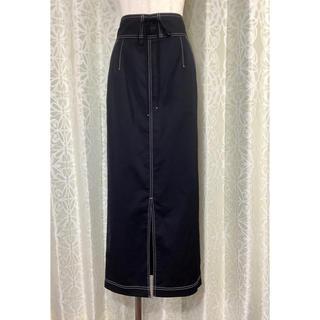 ノーブル(Noble)のNOBLE 黒ロングスカート(ロングスカート)