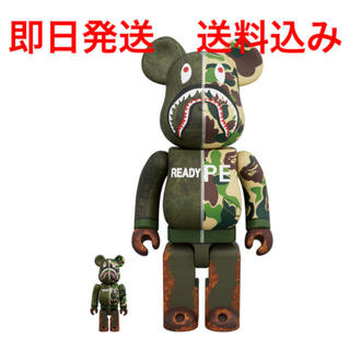 A BATHING APE - BE@RBRICK APE READYMADE 400%100% ベアブリック
