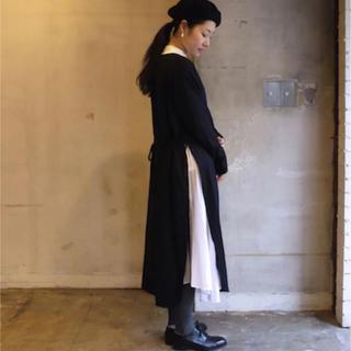 ヤエカ(YAECA)のTOUJOURS ストリングスリットドレス(ロングワンピース/マキシワンピース)
