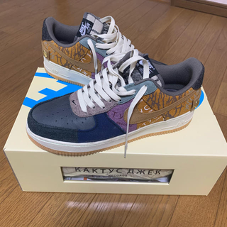 ナイキ(NIKE)のTRAVIS SCOTT NIKE AIR FORCE 1 LOW  28.5(スニーカー)