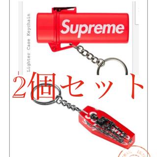 シュプリーム(Supreme)のsupreme skeleton  keychain  lighter case(キーホルダー)