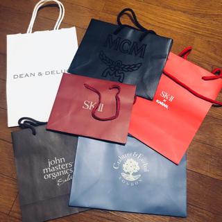 ディーンアンドデルーカ(DEAN & DELUCA)のショップ袋 紙袋 まとめ売り 袋 sk2 sk-Ⅱ DEAN&DELUCA(ショップ袋)