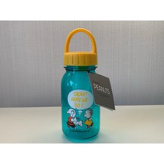 スヌーピー(SNOOPY)の☆新品未使用☆スヌーピー ドリンクボトル GREEN×YELLOW(タンブラー)