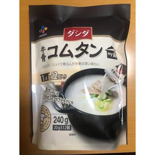 コストコ(コストコ)のダシダ牛骨コムタン12個(調味料)