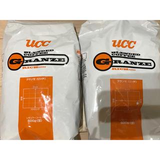 ユーシーシー(UCC)のUCC グランゼ リッチ 豆 2袋(コーヒー)