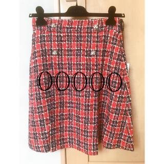 グッチ(Gucci)のグッチ ツイード スカート  42サイズ(ひざ丈スカート)