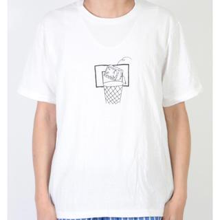 ヤエカ(YAECA)のYAECA  ヤエカ ケンカガミ プリントTシャツ ジャンク(Tシャツ(半袖/袖なし))