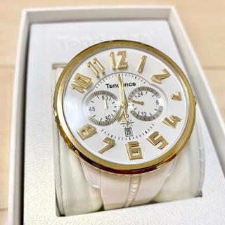 テンデンス(Tendence)のテンデンス 腕時計 ガリバーラウンド 50mm ホワイト×ゴールド(腕時計(アナログ))