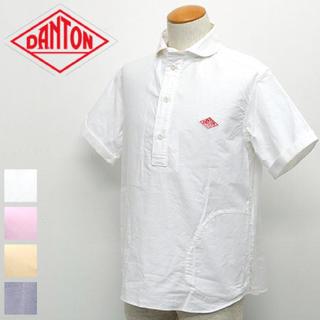 ダントン(DANTON)の美品☆DANTON ダントン  オックスフォード S/Sプルオーバーシャツ 38(シャツ)