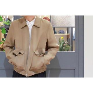 コモリ(COMOLI)のAURALEE SILK TRIPLE CLOTH ZIP BLOUSON(ブルゾン)