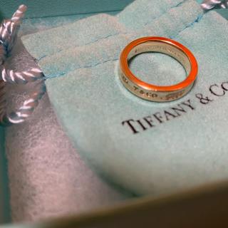 ティファニー(Tiffany & Co.)のティファニー ルベドメタル リング 7号 B4(リング(指輪))