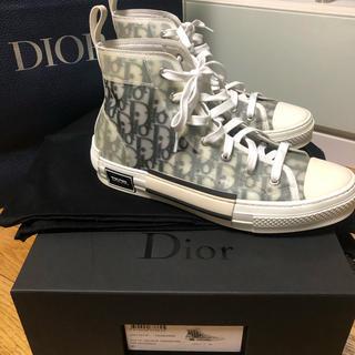 クリスチャンディオール(Christian Dior)のDIOR OBLIQUE B23 ハイカットスニーカー 41(スニーカー)
