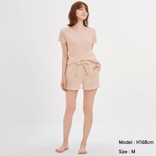GU(ジーユー)のGU♡リブラウンジセット♡ レディースのルームウェア/パジャマ(ルームウェア)の商品写真
