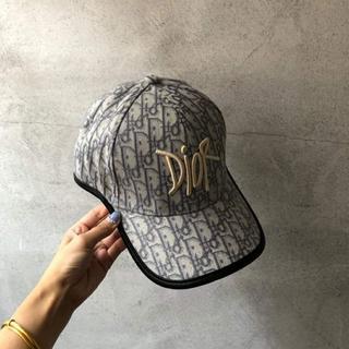 ディオール(Dior)のDIOR    ロゴ キャップ (キャップ)