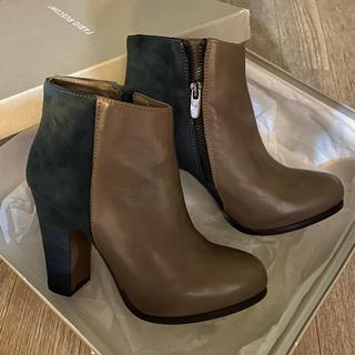 ファビオルスコーニ(FABIO RUSCONI)のファビオルスコーニ  バイカラー ブーツ(ブーツ)
